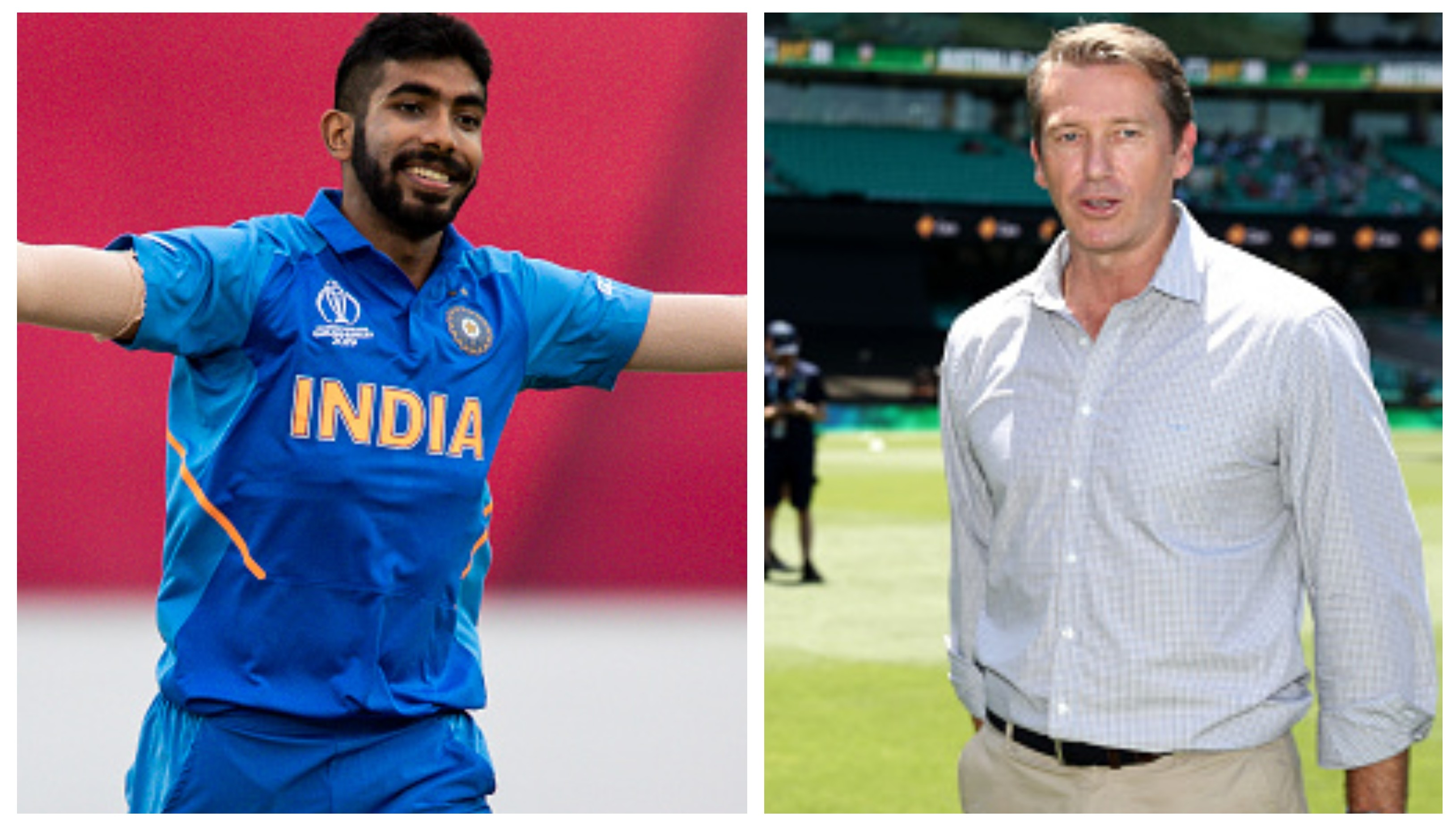 CWC 2019: Glenn McGrath hails Jasprit Bumrah on his World Cup performances