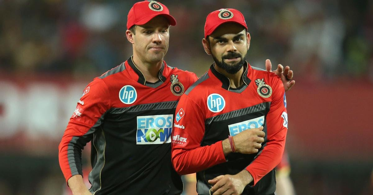 ABD and Virat are the pillars of RCB batting | Twitter