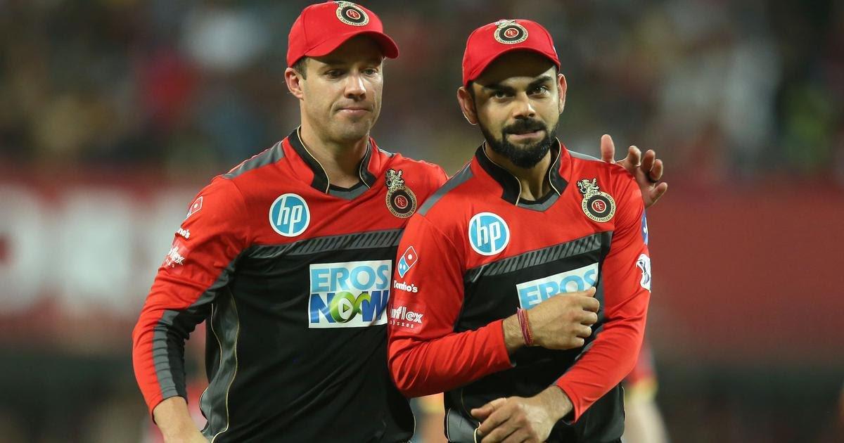 ABD and Virat are the pillars of RCB batting | Twitter