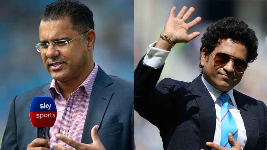 Waqar Younis lauds Sachin Tendulkar for his Hall of Fame induction and thanks him for 'thirty unbelievable and amazing years'
