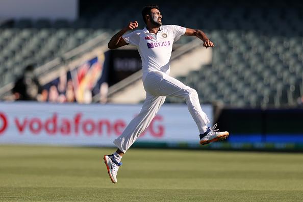 Ravichandran Ashwin leaping great heights in Test cricket | Getty