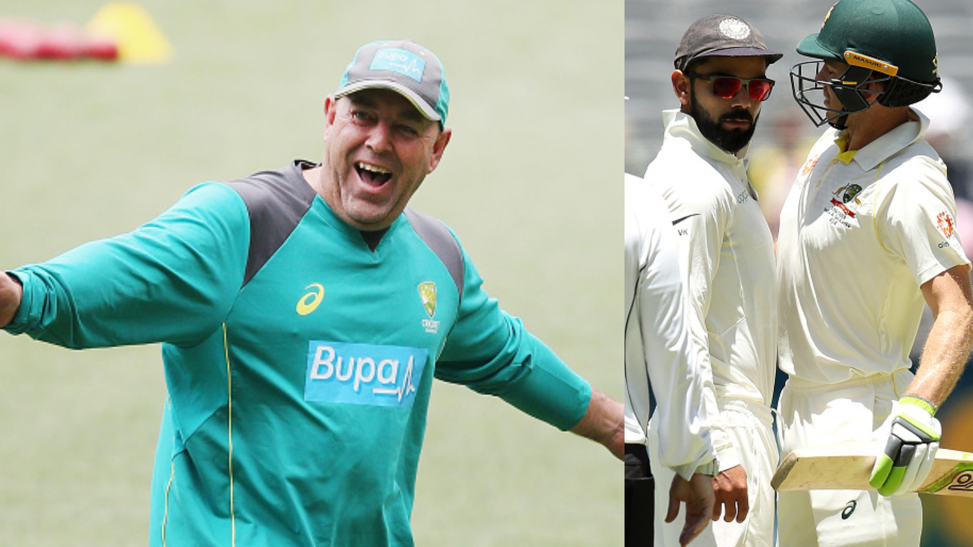 "AUS v IND 2018-19: Darren Lehmann backs Virat Kohli's ""excitable character"" in Perth"
