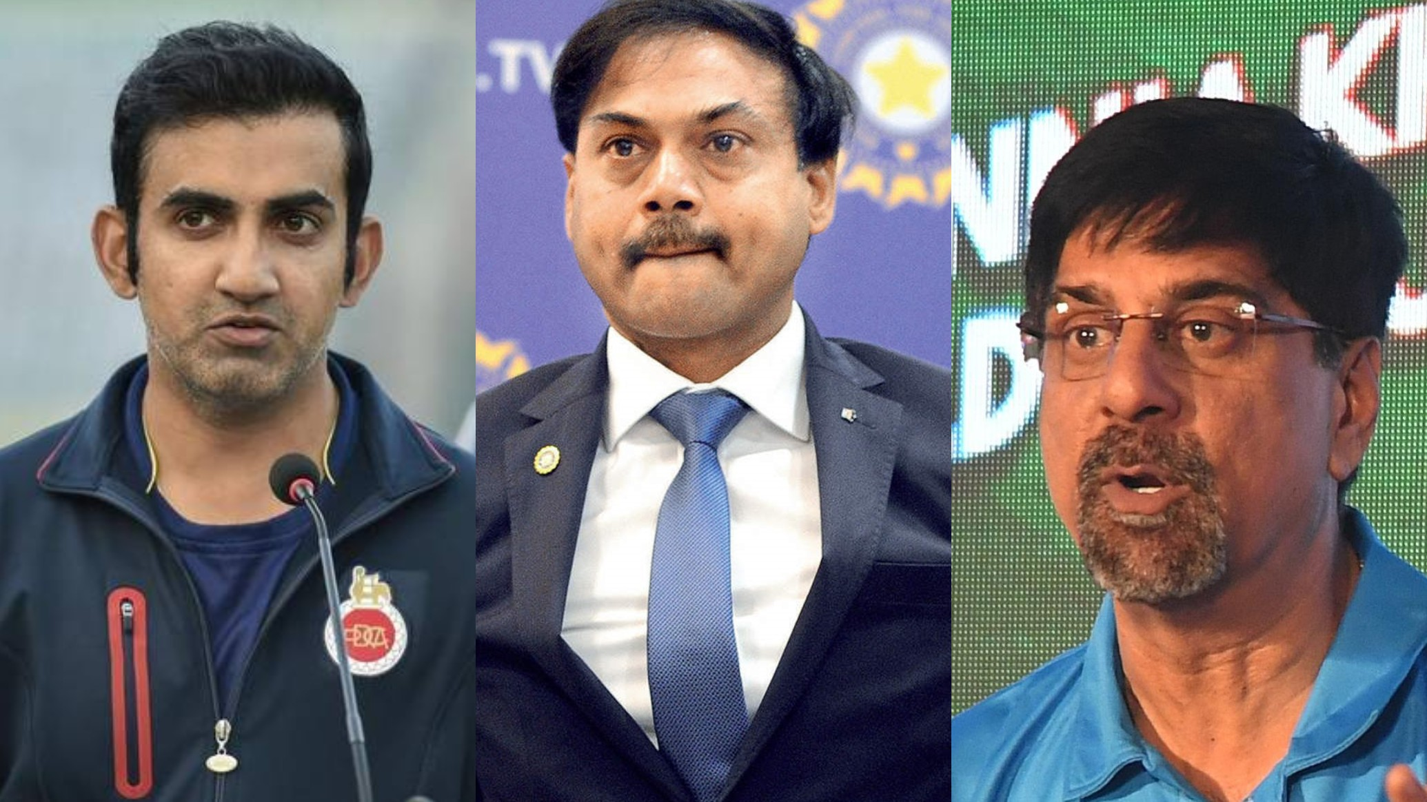 Gautam Gambhir and MSK Prasad engage in a war of words over shocking selection decisions