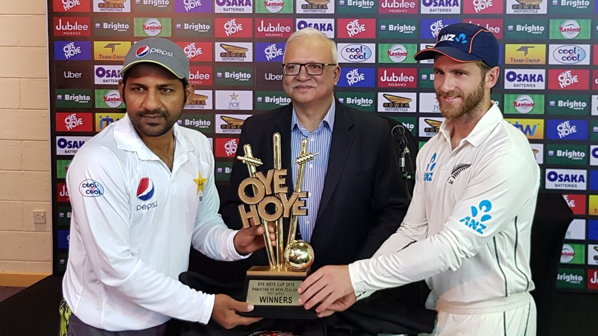 PAK v NZ 2018: First Test - Statistical Preview