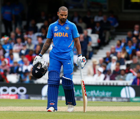 Shikhar Dhawan could miss India's next World Cup matches | Getty Images