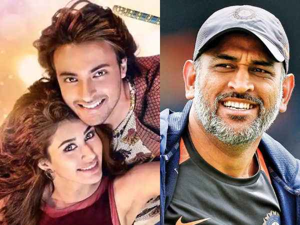 Dhoni met with Loveratri actors | TOI