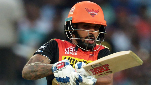 Shikhar Dhawan has captained SRH | AFP