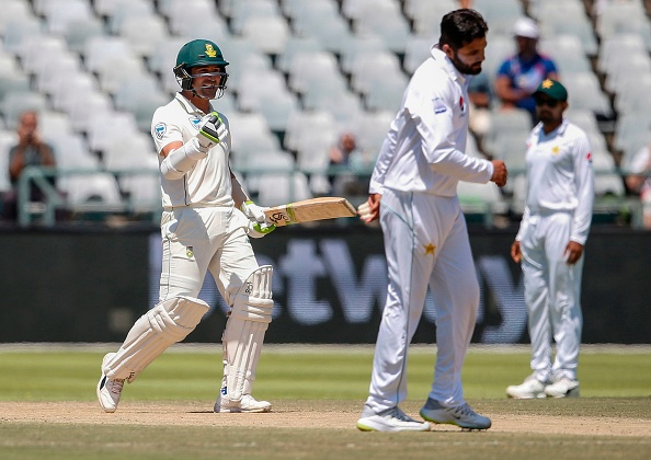 Elgar will be captaining in absence of Faf du Plessis   Getty