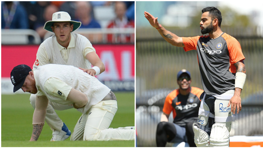 Ben Stokes gets support from Stuart Broad after his tweet on Virat Kohli was slamned