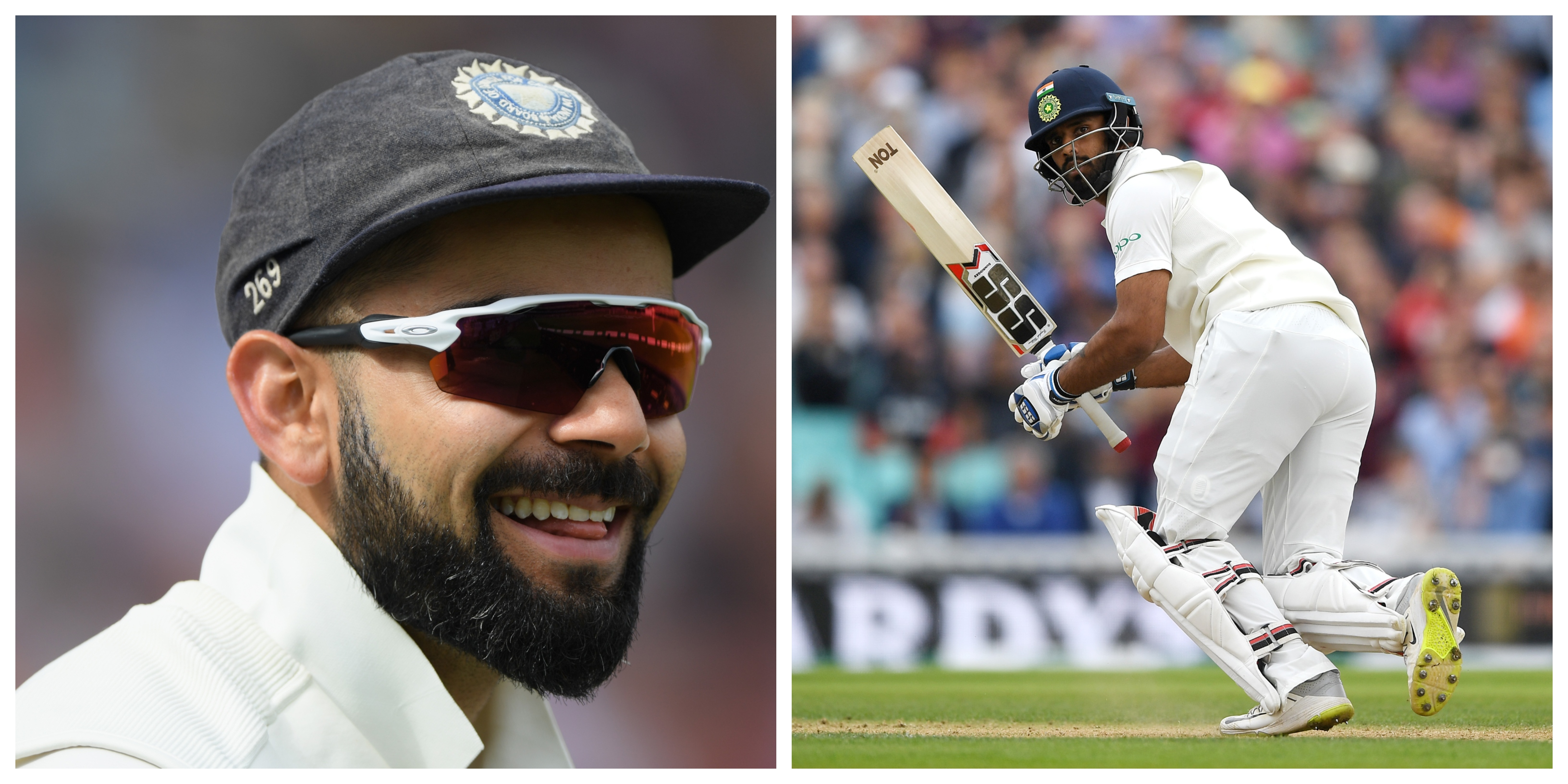 Vihari gave credit to Virat Kohli for helping him during his innings at The Oval. | Getty