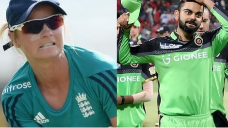 Danielle Wyatt wants Royal Challengers Bangalore's green jersey