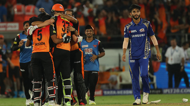 IPL 2018 : Match 23, MI vs SRH - Statistical Preview