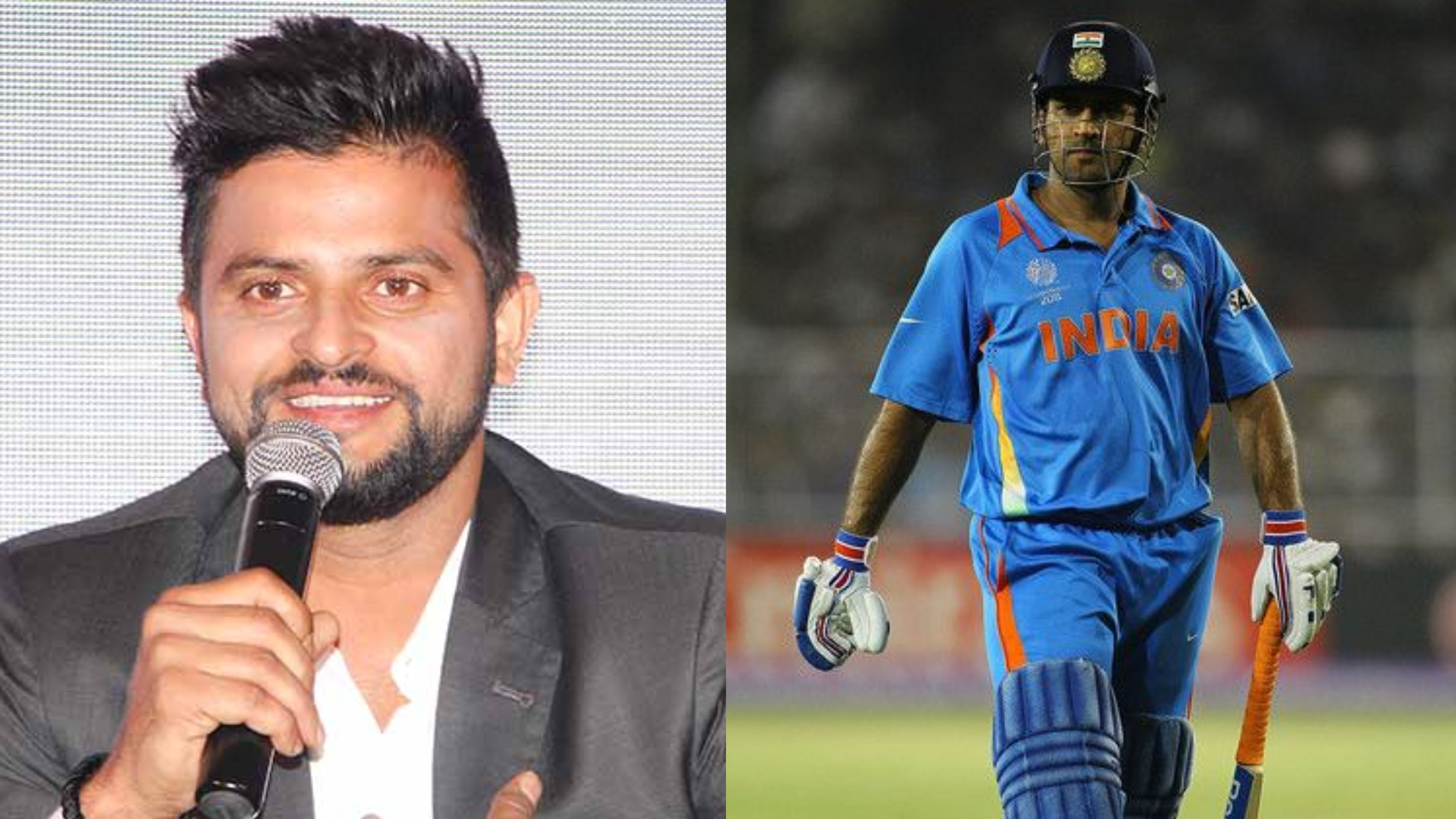 Suresh Raina recalls how MS Dhoni's sad face inspired him to win 2011 World Cup quarter-final for India