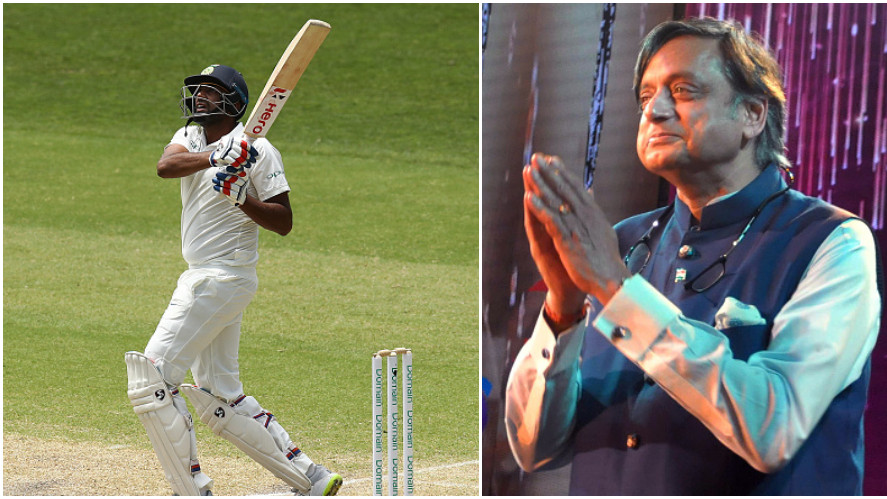 AUS v IND 2018-19: Shashi Tharoor suggests R Ashwin to open at MCG; faces wrath of Twitter