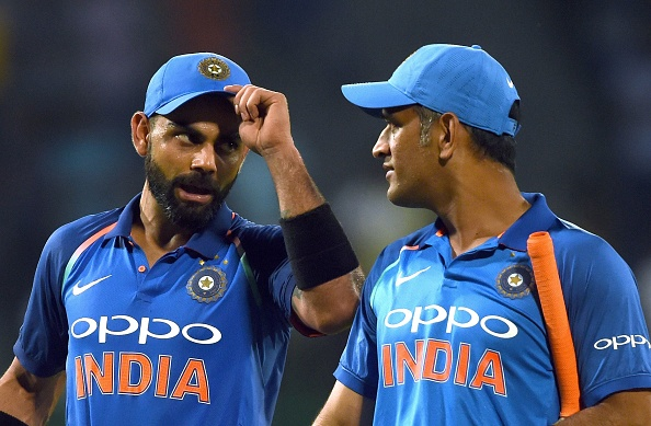 Virat Kohli and MS Dhoni | GETTY