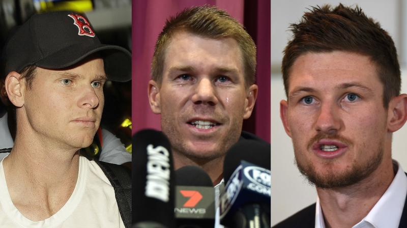 David Warner, Cameron Bancroft and Steve Smith are all currently serving ball-tempering bans | Getty Images