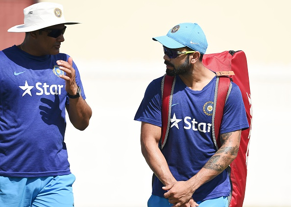 "Kumble left his position citing an ""untenable"" relationship with Virat"