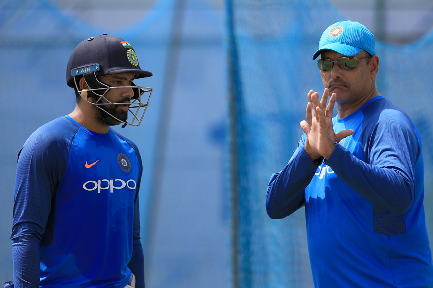 Ravi Shastri and Rohit Sharma | GETTY