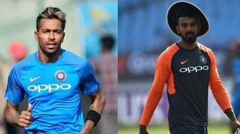 Suspended duo of Hardik Pandya and KL Rahul sent back to India to face probe