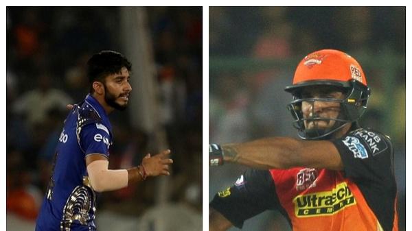 IPL 2018: बेहद रोमांचक मैच में सनराइजर्स हैदराबाद ने मुंबई इंडियंस को दी एक विकेट से मात