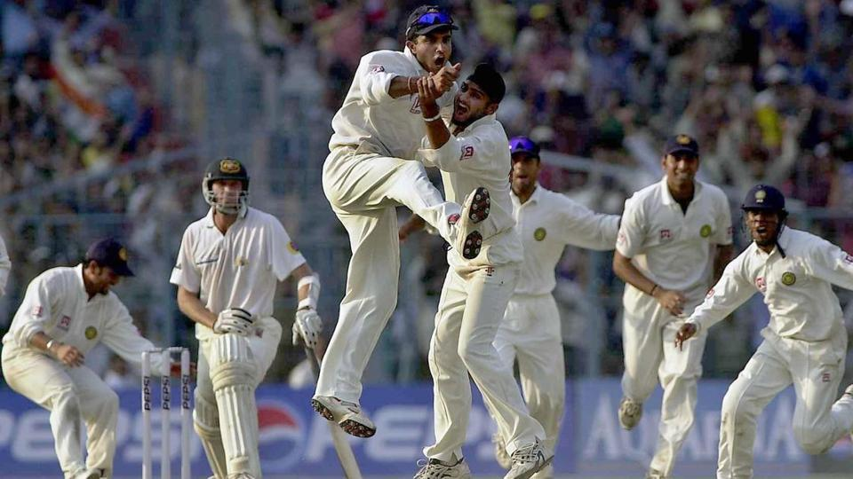 Sourav Ganguly, Harbhajan Singh and VVS Laxman relive the Eden Gardens' Test of 2001
