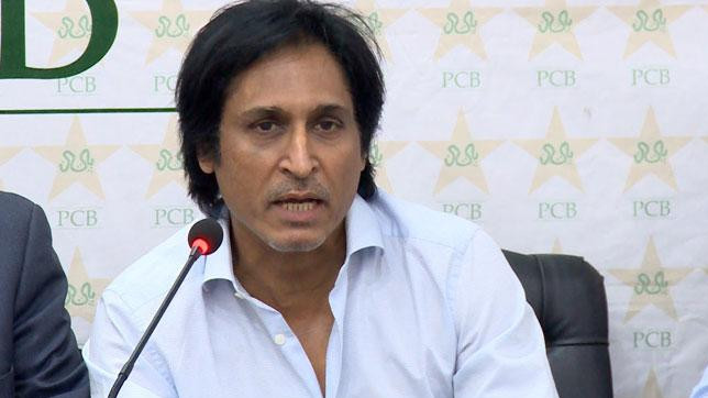 Fluent Ramiz Raja messes up at Dubai T10 player draft event