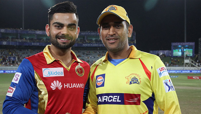 MS Dhoni and Virat Kohli | BCCI