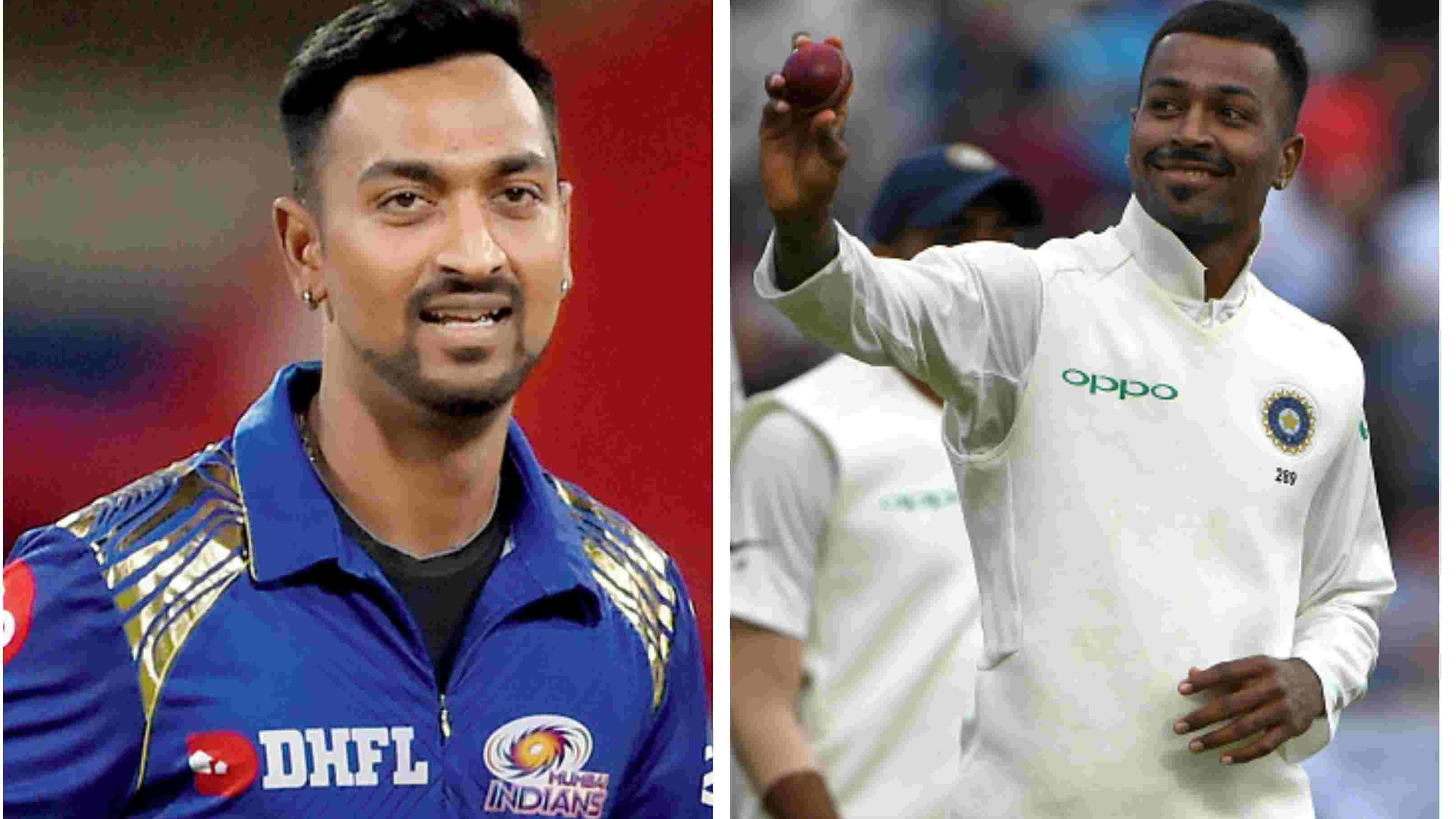 ENG v IND 2018: Krunal Pandya left speechless after Hardik's maiden five-wicket haul in Test cricket