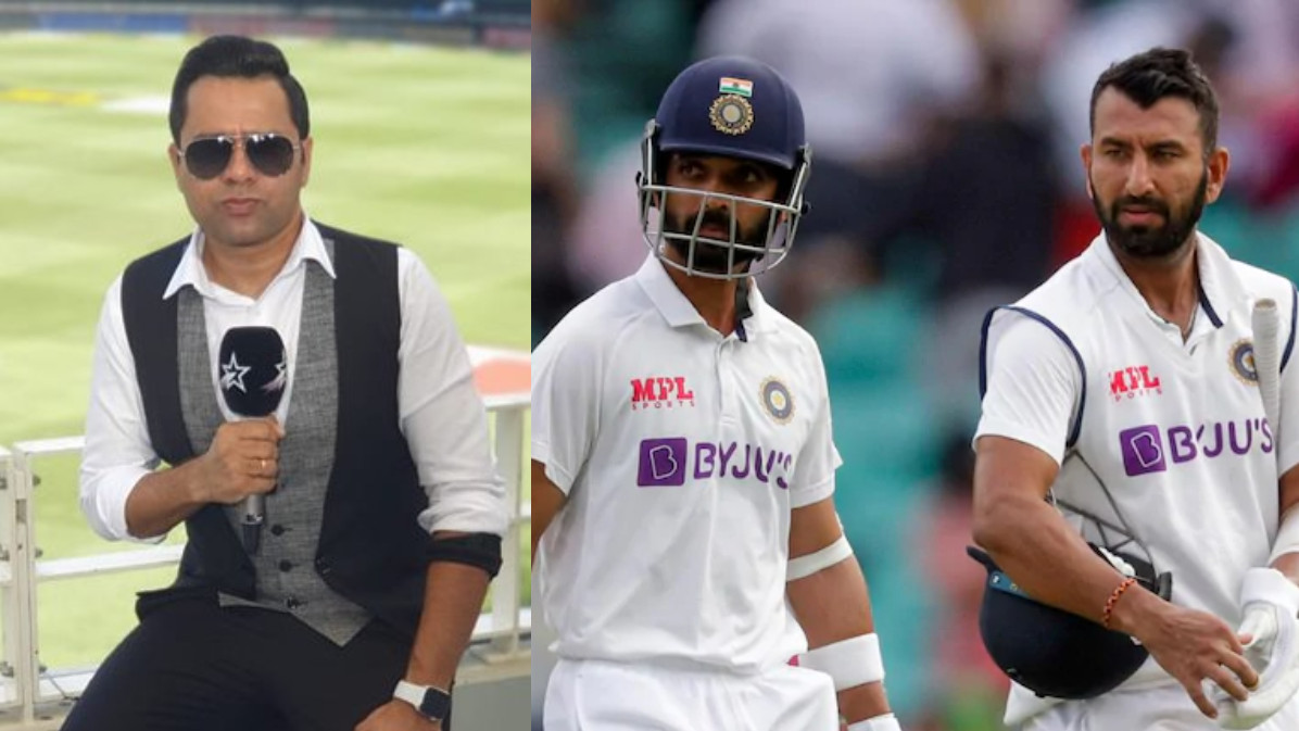 ENG v IND 2021: Aakash Chopra predicts Cheteshwar Pujara and Ajinkya Rahane will have a good series vs England