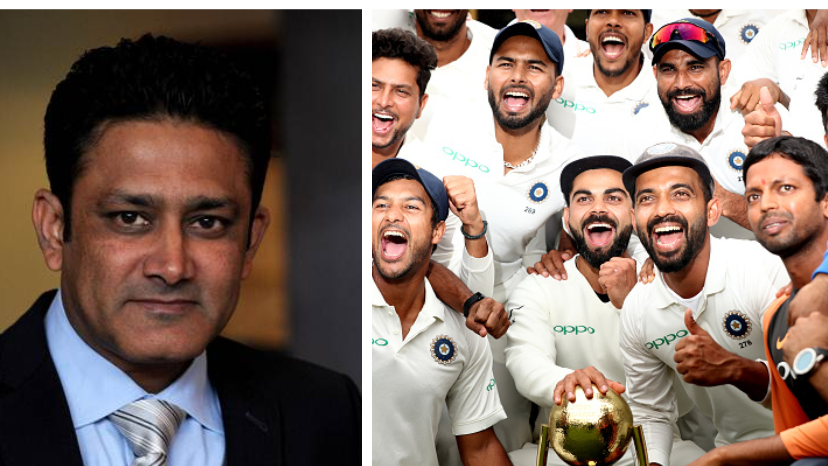 AUS v IND 2018-19: WATCH - Anil Kumble gets his prediction spot on as India wins the Test series 2-1