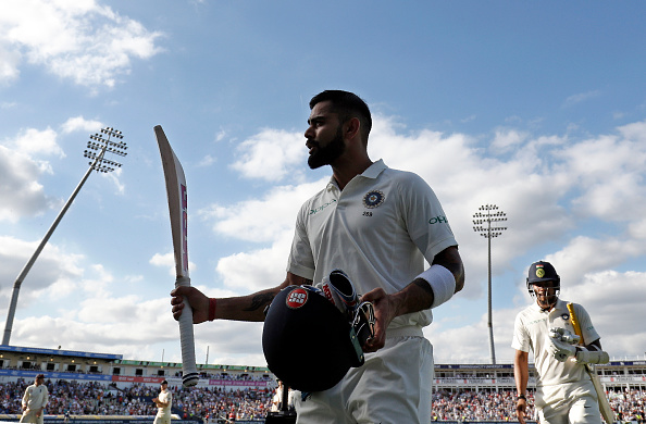 Virat Kohli scored the 2nd highest score (149) by an Indian captain in England after Mohd Azharuddin's 179 | Getty