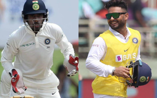 Saha and Pant will be the 1st choice keepers for England tour