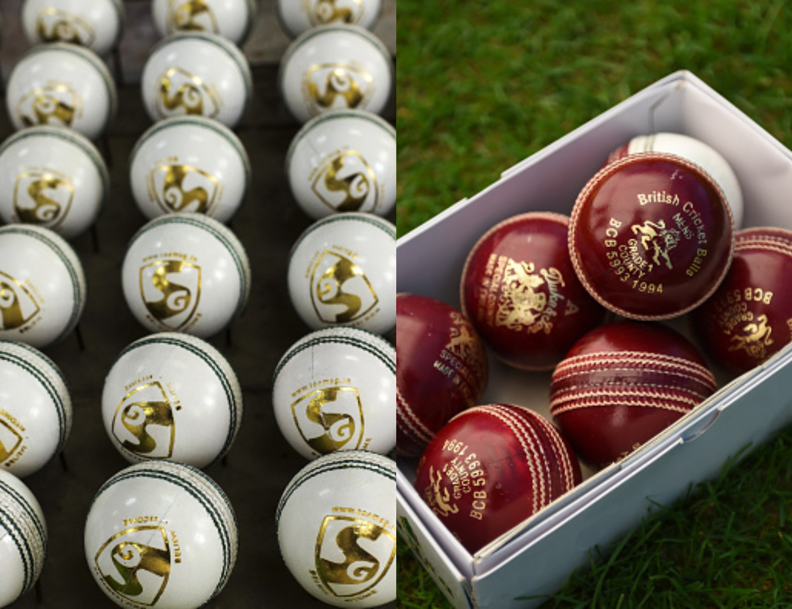 White and Red Cricket balls | Getty
