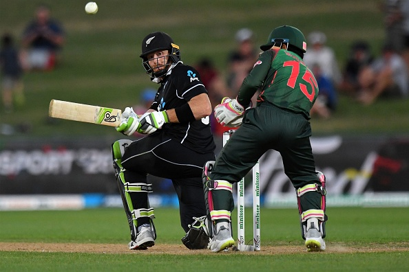 Martin Guptill hits 116-ball 117 in Napier against Bangladesh | Getty Images