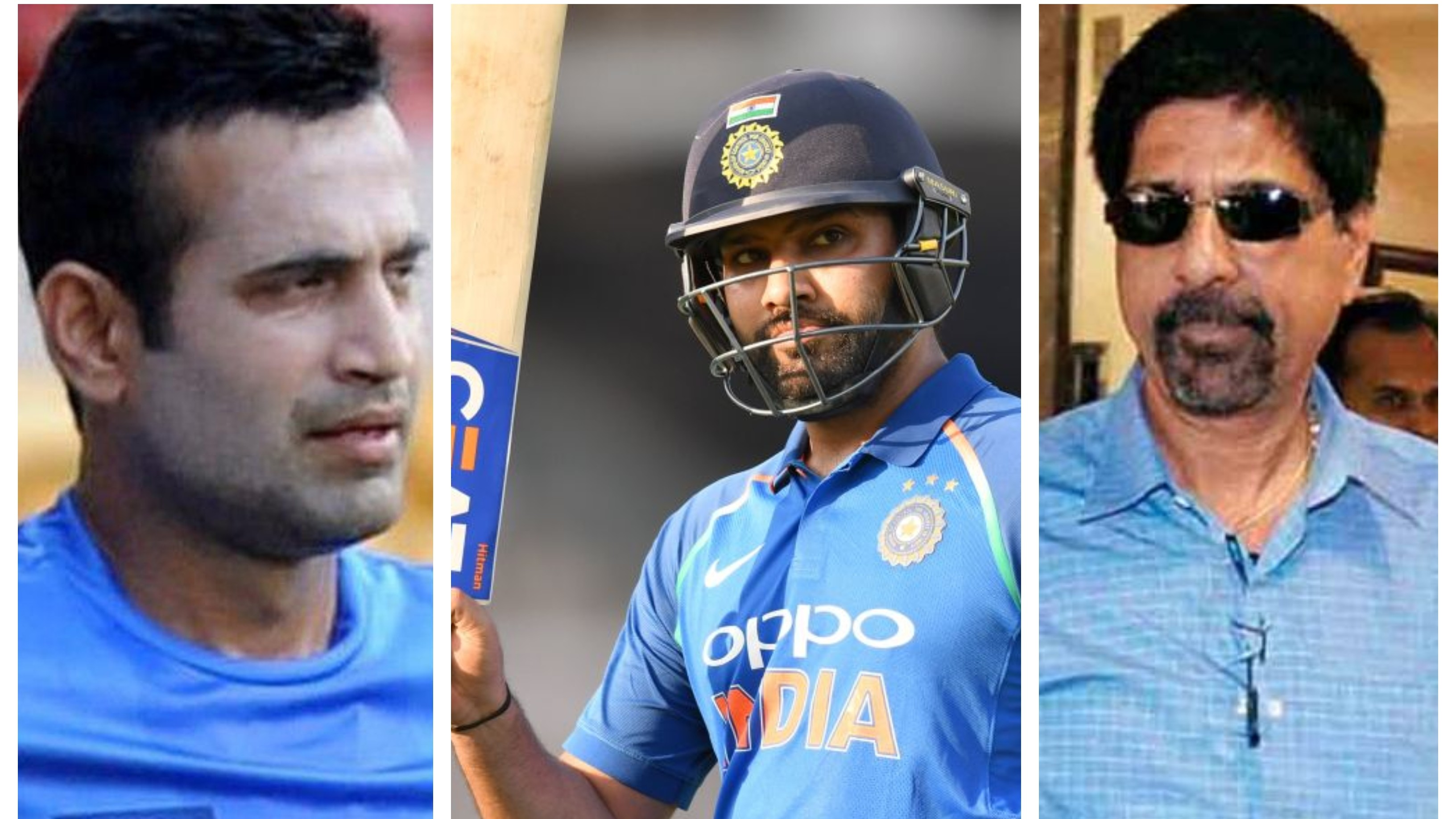 Kris Srikkanth, Irfan Pathan share their opinions on Rohit Sharma's all-time rank as an ODI opener