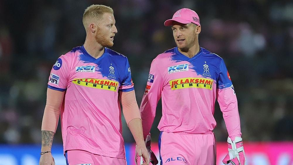 Ben Stokes and Jos Buttler | BCCI-IPL