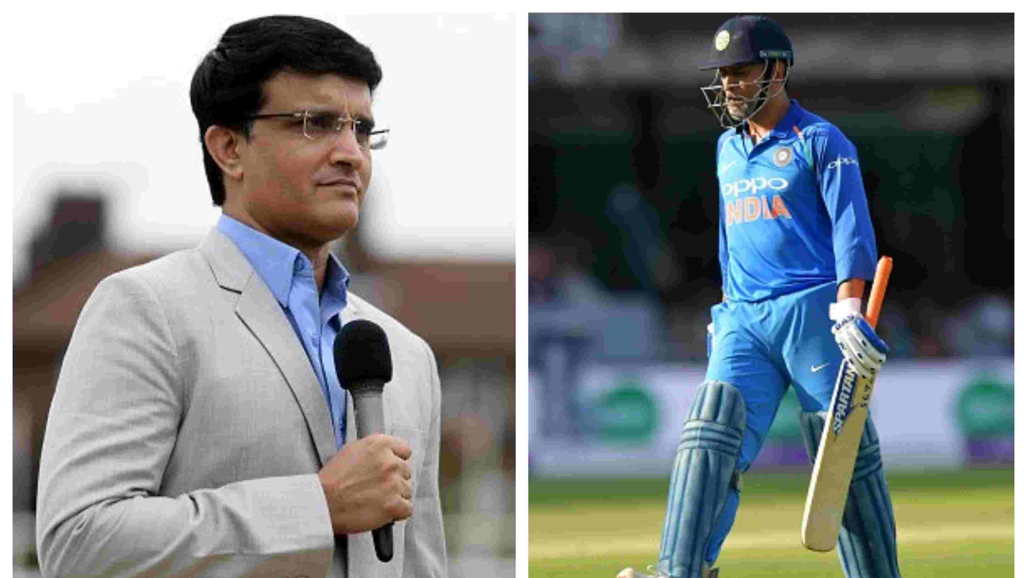 ASIA CUP 2018: MS Dhoni needs to perform to retain his place in the ODI side, says Sourav Ganguly
