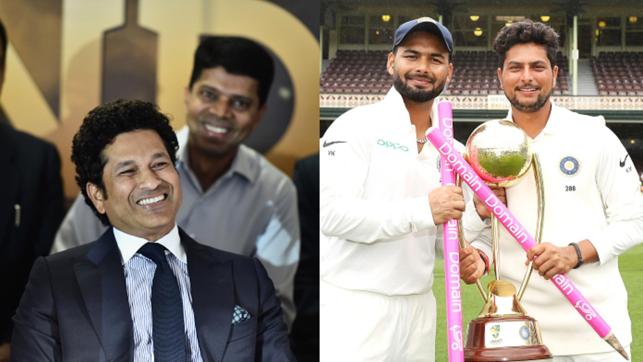 AUS v IND 2018-19 : ऑस्ट्रेलिया में टीम इंडिया की ऐतिहासिक जीत के बाद सचिन तेंदुलकर ने कुलदीप यादव और रिषभ पंत को बताया स्टार्स