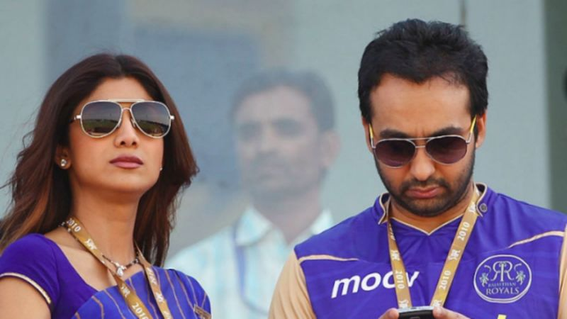 Raj Kundra owned the Rajasthan Royals along with a consontium
