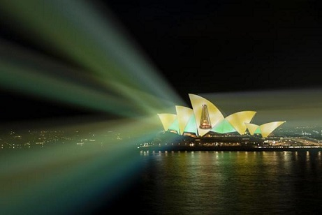 Sydney Opera House lights up to celebrate Australia's Ashes triumph over England