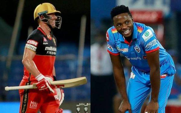 AB de Villiers and Kagiso Rabada   IPL/BCCI