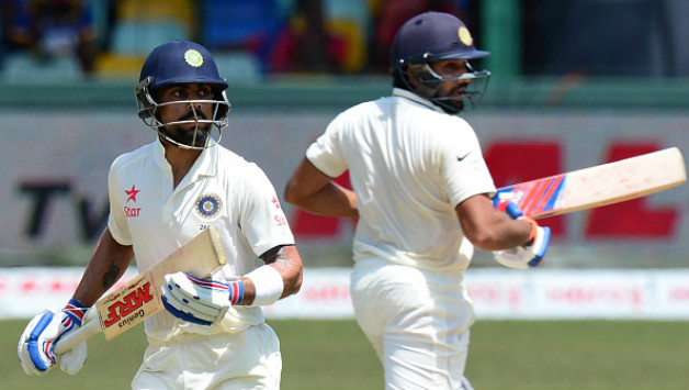 Sehwag reckons Virat and Rohit will hold the key for India in the next two Tests | AFP