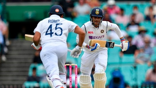 AUS v IND 2020-21: India ends day 2 on 96/2 with Gill making 50; Smith's 131 takes Australia to 338