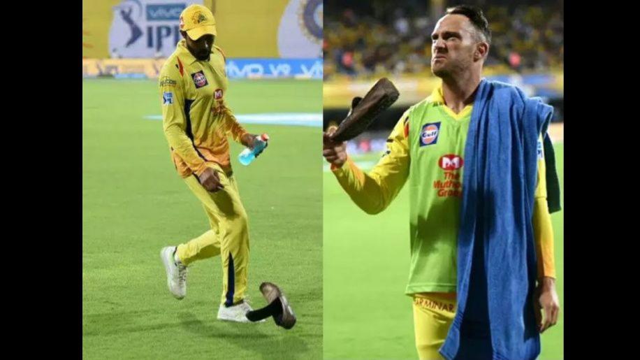 छक्का लगाकर चेन्नई सुपर किंग्स को जीत दिलाने वाले जड़ेजा पर फेंके गए जूते
