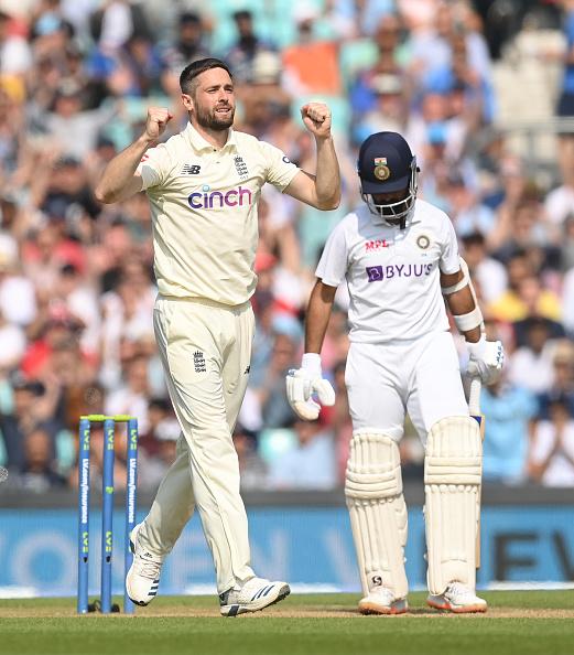Ajinkya Rahane fell for a duck in second innings of Oval Test | Getty