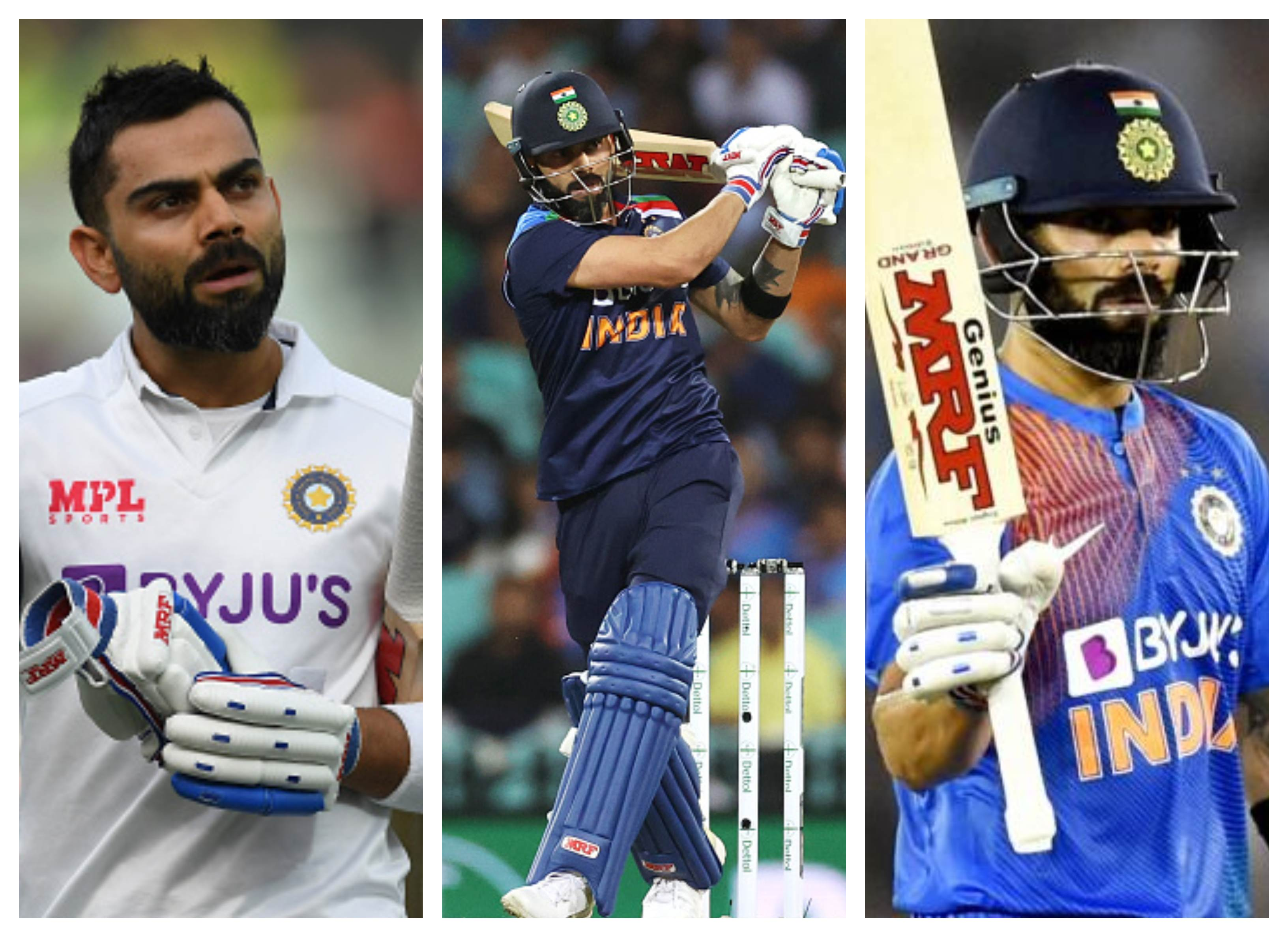 ICC bestowed Virat Kohli with two major awards for his fabulous showing in the last decade | Getty