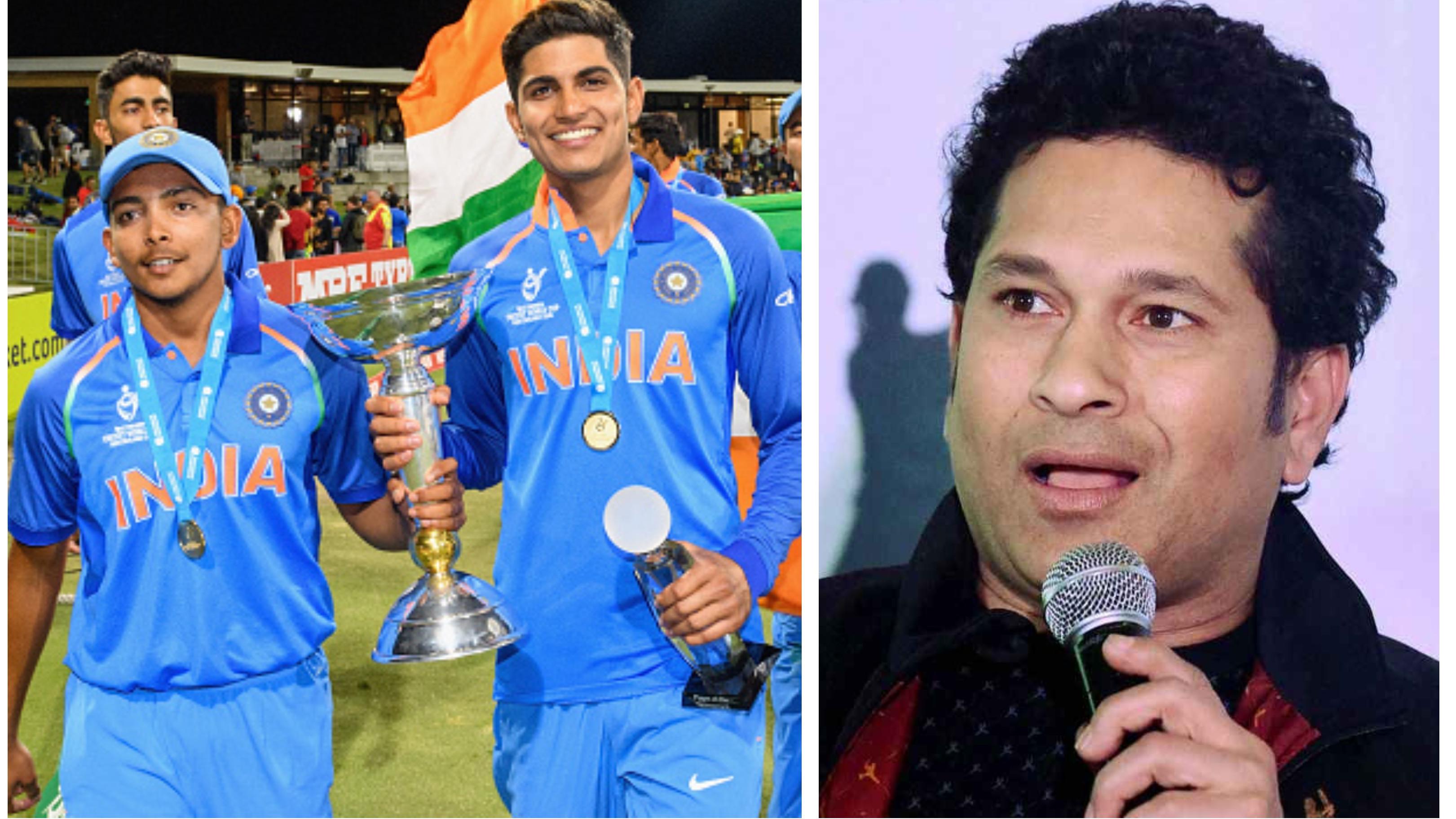 Sachin Tendulkar advices Prithvi Shaw and Shubman Gill to enjoy their cricket