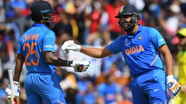 CWC 2019: Rohit Sharma's amusing reply on Shikhar Dhawan's latest Instagram post