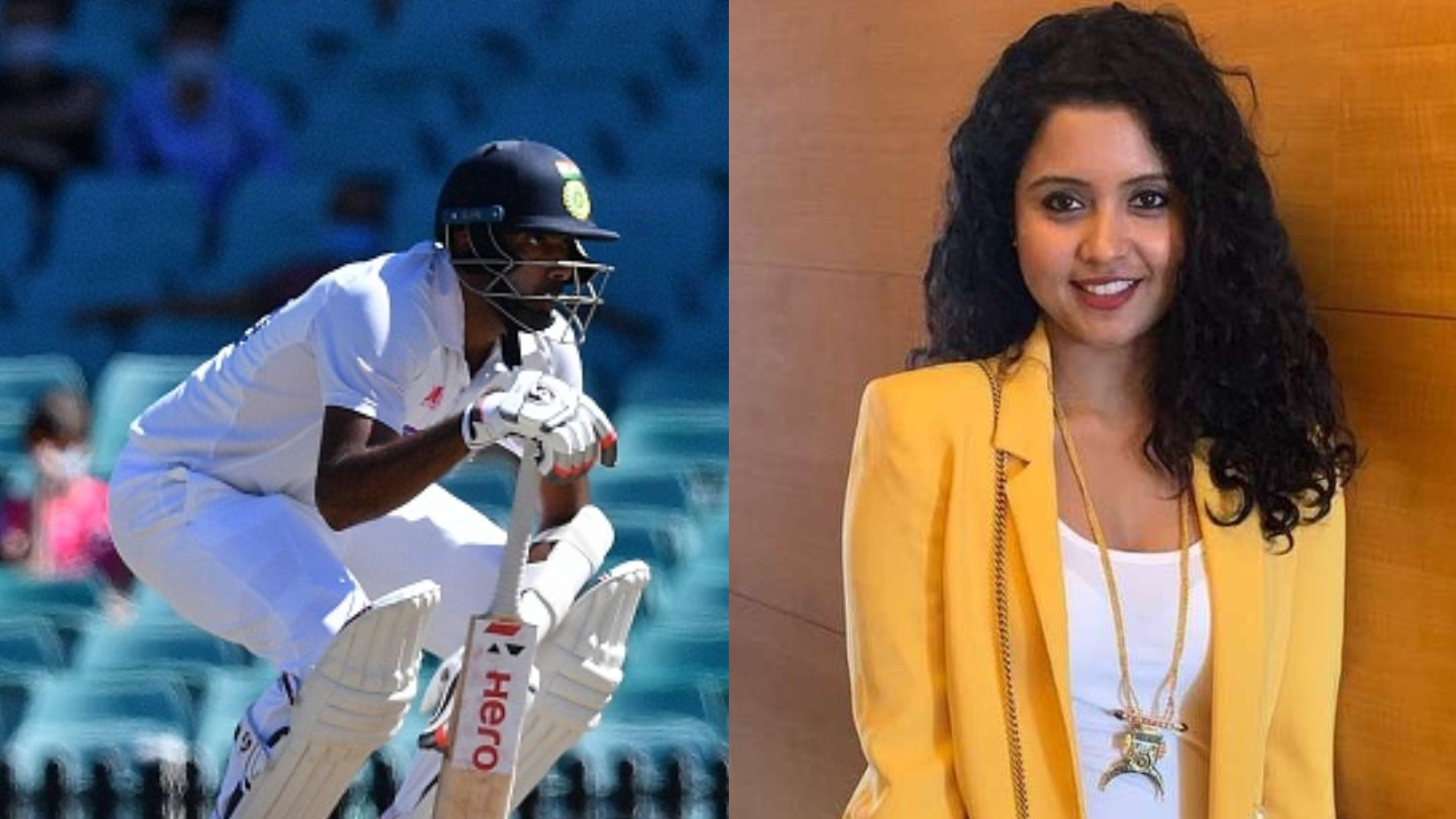 "AUS v IND 2020-21: ""He couldn't tie his shoelaces due to back pain,"" Prithi Ashwin lauds her husband's determination"