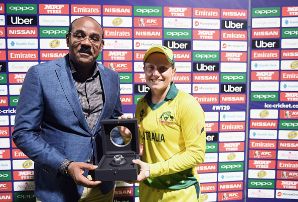 Alyssa Healy won four Player of the Match award in the 2018 World T20 so far | Getty Images